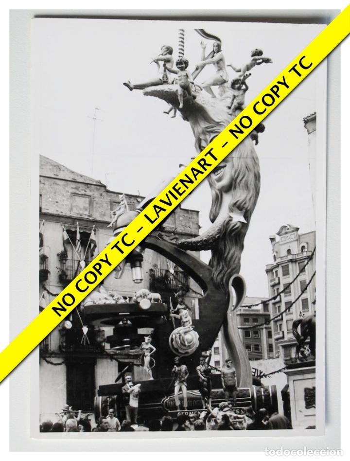 FOTOGRAFÍA VALENCIA FALLA - PLAZA DEL PILAR - 1969 (Fotografía - Artística)