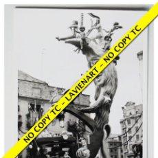 Fotografía antigua: FOTOGRAFÍA VALENCIA FALLA - PLAZA DEL PILAR - 1969. Lote 179557646