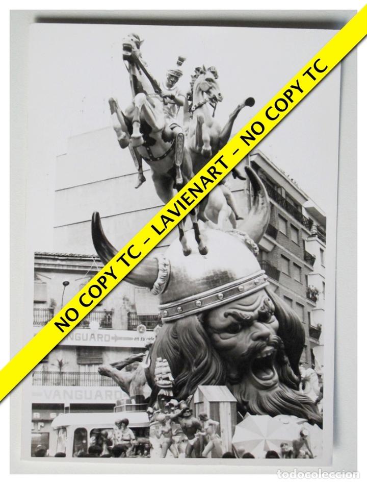 FOTOGRAFÍA VALENCIA FALLA - CONVENTO JERUSALEN - 1969 (Fotografía - Artística)