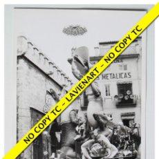Fotografía antigua: FOTOGRAFÍA VALENCIA FALLA - PLAZA COLLADO - 1969. Lote 179557676