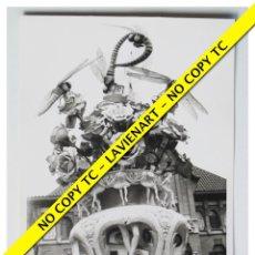 Fotografía antigua: FOTOGRAFÍA VALENCIA FALLA - PLAZA MERCADO - 1969. Lote 179557696