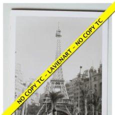 Fotografía antigua: FOTOGRAFÍA VALENCIA FALLA - CAUDILLO - 1966. Lote 179557782