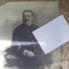 Fotografía antigua: MILITAR JEREZANO RUBIO GRANDES DIMENSI. Lote 179950910