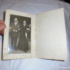 Fotografía antigua: MATRIMONIO .MACIAS BILBAO/GIJON. Lote 180017661