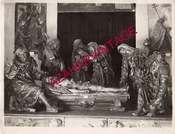 VALLADOLID,AÑOS 30, MUSEO SANTO ENTIERRO JUAN JUNI, 23X18 CMS (Fotografía - Artística)