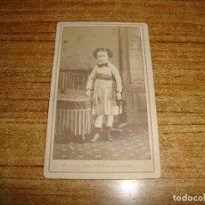 Fotografía antigua: (TC-203/19) FOTOGRAFIA FINALES XIX FOTOGRAFO ANDRIEN CORDIGLIA BARCELONA. Lote 180220220