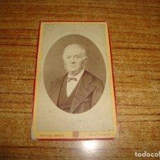 Fotografía antigua: (TC-203/19) FOTOGRAFIA FINALES XIX FOTOGRAFO ACHILLE BOUIS MONTALBAN . Lote 180220512