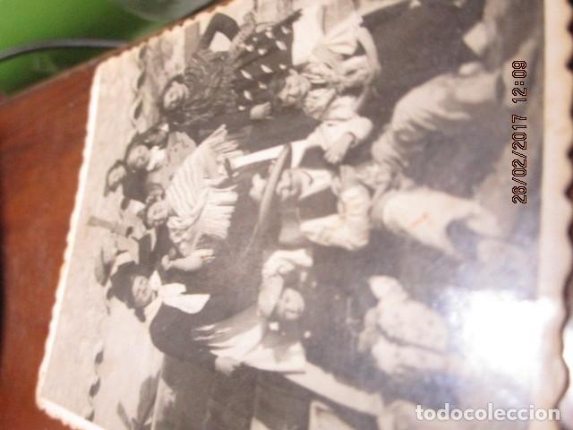 Fotografía antigua: alicante foto antigua fiestas banda musical o charanga 1942 - Foto 6 - 180296910