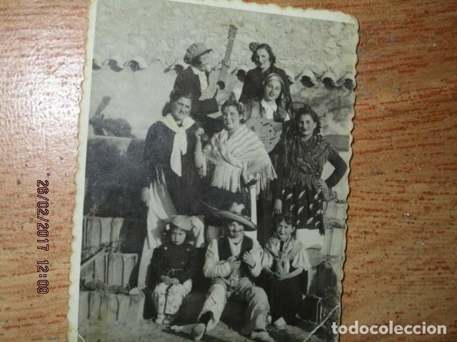ALICANTE FOTO ANTIGUA FIESTAS BANDA MUSICAL O CHARANGA 1942 (Fotografía - Artística)