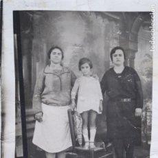 Fotografía antigua: FOTO MINUTERO VALENCIA . Lote 180457492