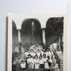 Fotografía antigua: ALUMNAS COLEGIO DE MONJAS . Lote 181021007