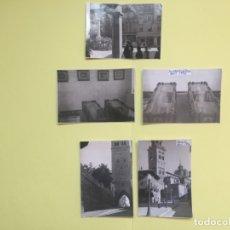Fotografía antigua: 5 FOTOGRAFÍAS ANTIGUAS: TERUEL (1956) TUMBAS AMANTES ¡ORIGINALES! ÚNICAS. COLECCIONISTA. Lote 181188820