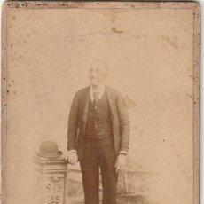Fotografía antigua: FOTOGRAFIA CABALLERO - FOTOGRAFO M. MARTINEZ - PLAZA DE SAN FRANCISCO,6 VALENCIA - -R-7. Lote 181204671