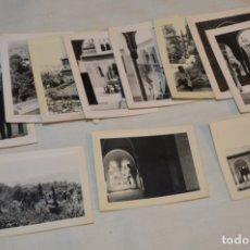 Fotografía antigua: COLECCIÓN DE 11 FOTOGRAFÍAS VARIADAS, DE GRANADA, EN EL ENTORNO DE LA ALHABRA - AÑOS 50/60 ¡MIRA!. Lote 182359152