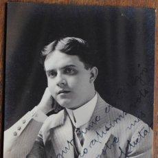 Fotografía antigua: ANTIGUA FOTO RETRATO- CON DEDICATORIA- 1912 GUANTANAMO-POSIBLEMENTE RELACIONADO CON BLOK CATHALONIA . Lote 182604515