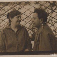 Fotografía antigua: FOTOGRAFIA FOTO TARJETA POSTAL ENAMORADOS. Lote 182724398