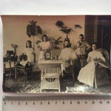 Fotografía antigua: FOTO. RETRATO FAMILIAR. FOTÓGRAFO?. AÑO 1912.. Lote 182848358