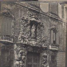 Fotografía antigua: FOTOGRAFIA FOTO ARTISTICA VALENCIA FACHADA BARROCA VIRGEN. Lote 182962187