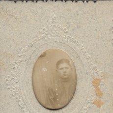 Fotografía antigua: FOTOGRAFIA FOTO ARTISTICA MILITAR MODERNISTA. Lote 183004443