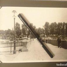 Fotografía antigua: EXCELENTE ALBUM FOTOGRAFICO DE MADRID 1934-1935 PUENTE DEL REY. Lote 183750122