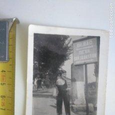 Fotografía antigua: MUJER PROBABLEMENTE EN MOTRICO MUTRIKU GIPUZKOA DEVA. Lote 183770435