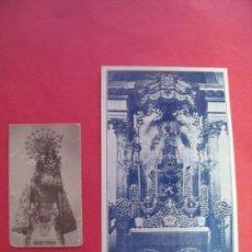 Fotografía antigua: VIRGEN DE LOS DESAMPARADOS.-FOTO.-POSTAL.-C. SIGÜENZA.-FOTOGRAFO.-VALENCIA.. Lote 183801995