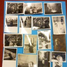 Fotografía antigua: LOTE DE FOTOGRAFÍAS ANTIGUAS FAMILIARES. Lote 184005225