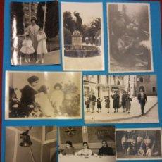 Fotografía antigua: LOTE DE FOTOGRAFÍAS ANTIGUAS FAMILIARES. Lote 184013458