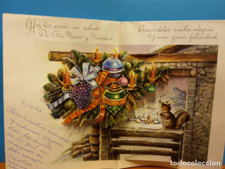 Fotografía antigua: LOTE DE HERMOSAS POSTALES Y TARJETAS NAVIDEÑAS - Foto 20 - 184077135