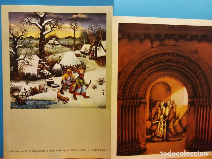 Fotografía antigua: LOTE DE HERMOSAS POSTALES Y TARJETAS NAVIDEÑAS - Foto 22 - 184077135