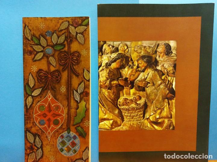 Fotografía antigua: LOTE DE HERMOSAS POSTALES Y TARJETAS NAVIDEÑAS - Foto 24 - 184077135