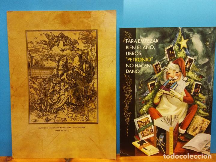 Fotografía antigua: LOTE DE HERMOSAS POSTALES Y TARJETAS NAVIDEÑAS - Foto 25 - 184077135
