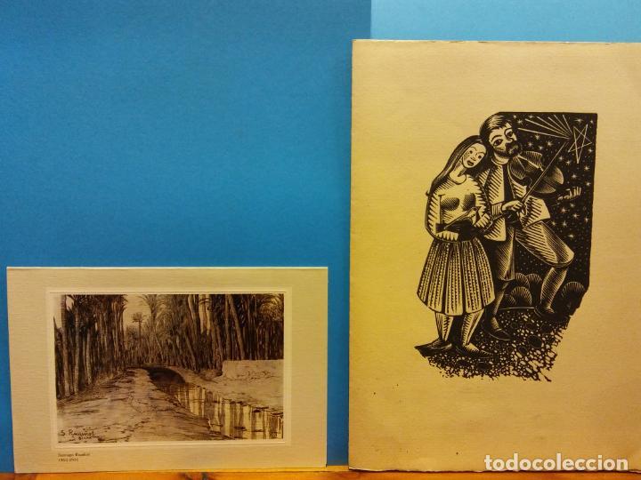 Fotografía antigua: LOTE DE HERMOSAS POSTALES Y TARJETAS NAVIDEÑAS - Foto 32 - 184077135