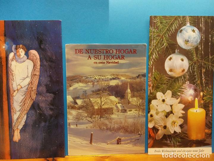 Fotografía antigua: LOTE DE HERMOSAS POSTALES Y TARJETAS NAVIDEÑAS - Foto 41 - 184077135