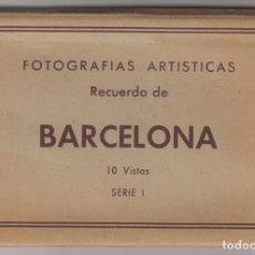 Fotografía antigua: 10 FOTOGRAFÍAS ARTÍSTICAS RECUERDO DE BARCELONA. TALLERES FOTOGRÁFICOS: CASA FIGUEROLA. AÑOS 50.. Lote 184186153