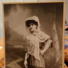Fotografía antigua: FOTO GARAY, VALLADOLID, ORIGINAL,VED REVERSO,BUENA CALIDAD. Lote 184471157