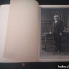 Photographie ancienne: FOTO ANTIGUA HOMBRE BILBAO. ZALDUA PRINCIPIO DEL XX. Lote 185684192