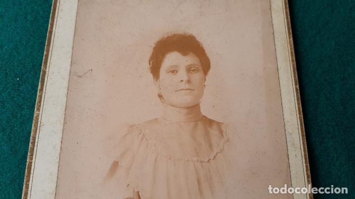 Fotografía antigua: ANTIGUA FOTO RETRATO SEÑORA - Foto 2 - 185713102