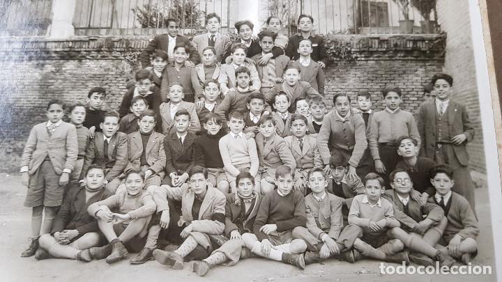Fotografía antigua: ANTIGUA FOTO DE GRUPO COLEGIO - Foto 2 - 185713280