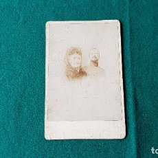 Fotografía antigua: ANTIGUA FOTO RETRATO. Lote 185713735