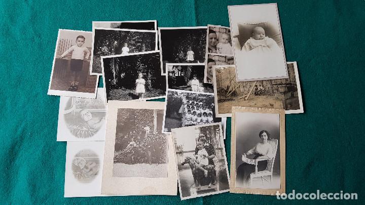LOTE DE 14 FOTOS FAMILIARES (Fotografía - Artística)