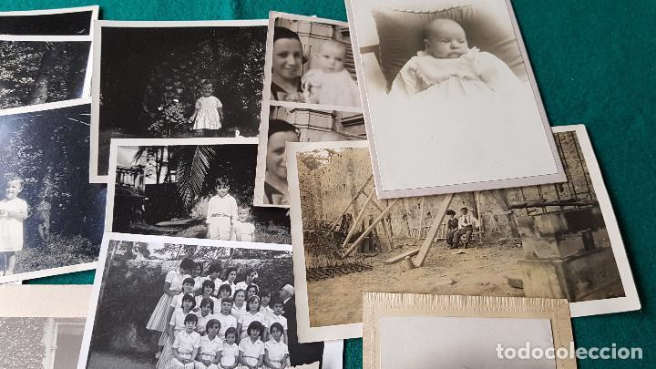 Fotografía antigua: LOTE DE 14 FOTOS FAMILIARES - Foto 2 - 185714281