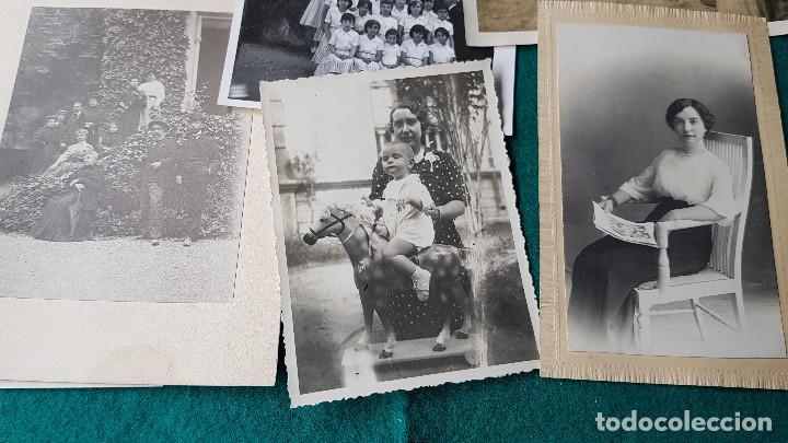 Fotografía antigua: LOTE DE 14 FOTOS FAMILIARES - Foto 3 - 185714281