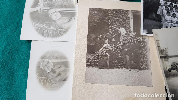 Fotografía antigua: LOTE DE 14 FOTOS FAMILIARES - Foto 4 - 185714281