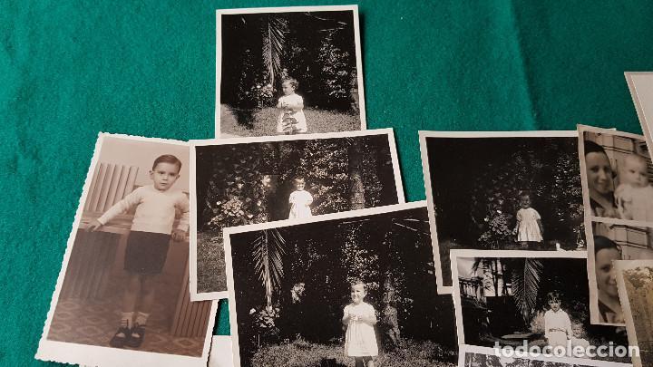 Fotografía antigua: LOTE DE 14 FOTOS FAMILIARES - Foto 5 - 185714281