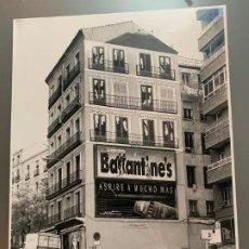 Fotografía antigua: JUAN DOLCET SANTOS FOTOGRAFIA ORIGINAL CALLE MADRID CON DOS CLICHES. Lote 186083626