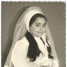 Fotografía antigua: == ES220 - FOTOGRAFIA RECORDATORIO DE PRIMERA COMUNION - 1974. Lote 186126968