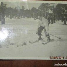 Fotografía antigua: COMPETICION MILITAR DE ESQUI DEPORTE MELILLA NEVADO ANTIGUA FOTO OFICIAL EXCOMBATIENTE GUERRA CIVIL. Lote 186068242