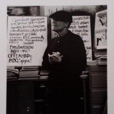 Fotografía antigua: RAOUL HAUSMANN, FOTOGRAFÍA - ENTRACTE, 1967-91, FIRMADO A LÁPIZ.. Lote 188679410