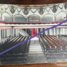 Fotografía antigua: FOTOGRAFÍA COLOREADA ANTIGUA. TEATRO TÍVOLI. CANTINA. LA CEIBA. HONDURAS. AÑOS 20/30... Lote 188804083
